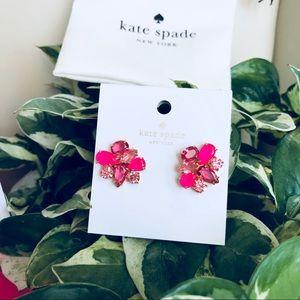 New Kate spade pink earrings